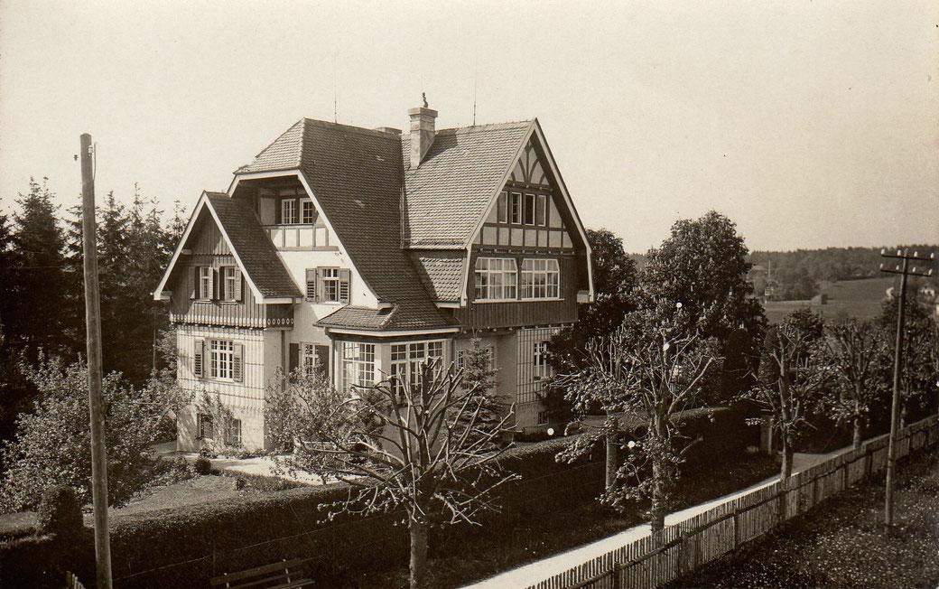 Villa Engelbert Knittl in Feldafing, © Knittl, 1920