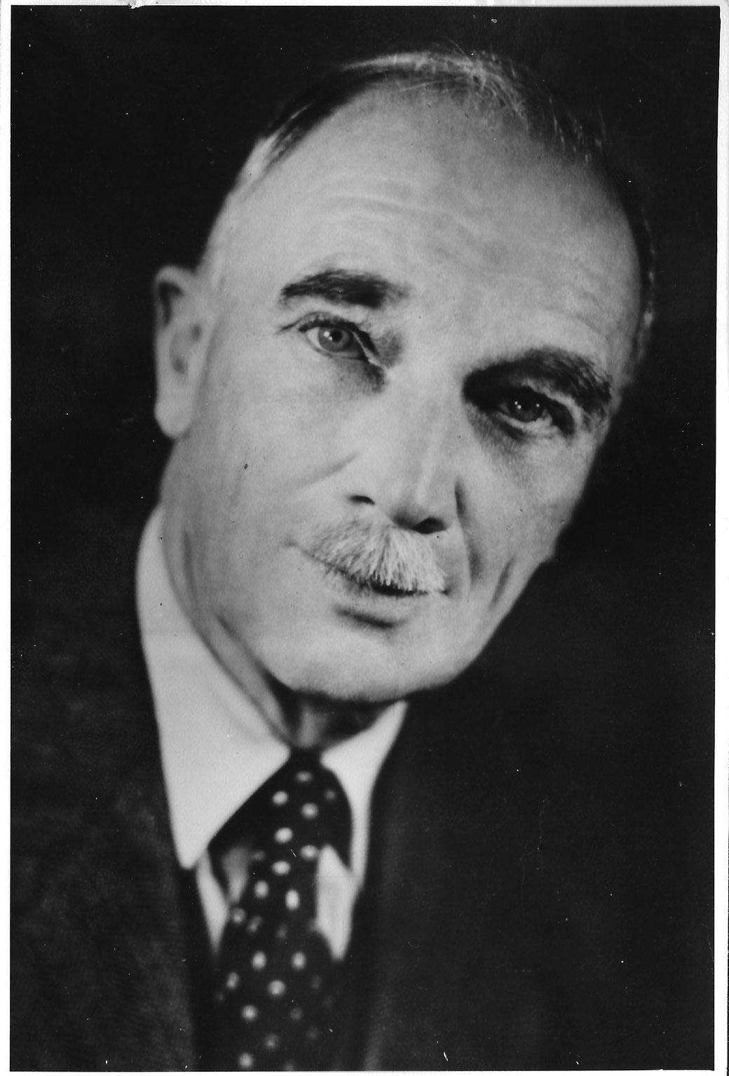 Feldafinger Baumeister Engelbert Knittl (1882-1963), © Knittl, 1955
