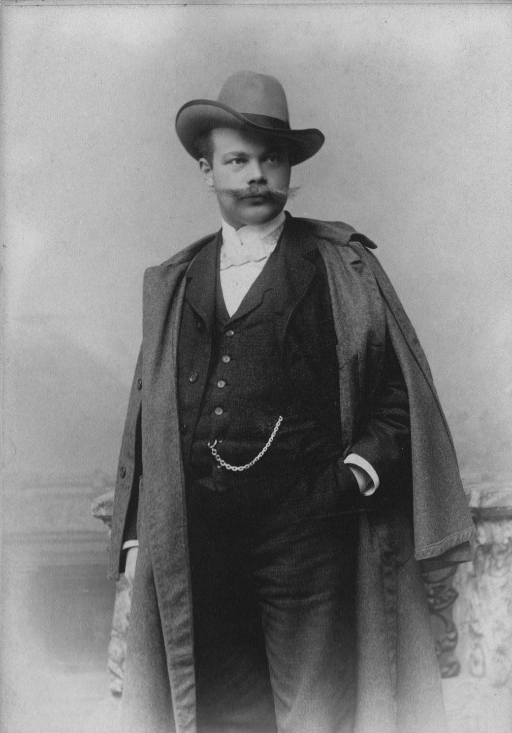 Baumeister Xaver Knittl (1873-1933) © Knittl, 1900