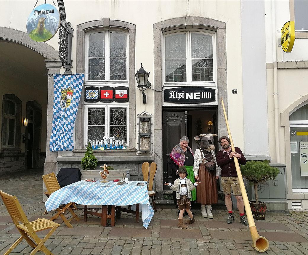 """""""Wilder Kaiser"""", 2018, 100 x 120 cm"""