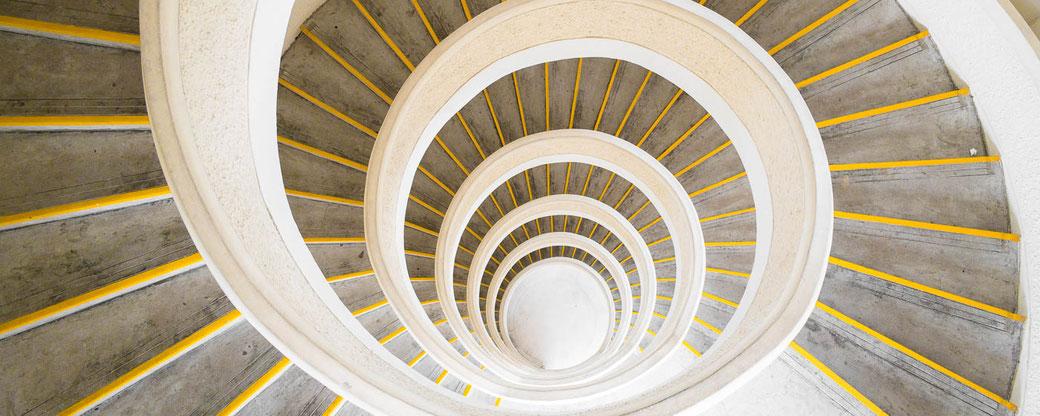 Stairwell, Chinese Garden Pagoda, Singapore