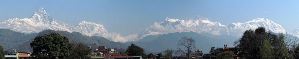 der Himalaya in seiner ganzen Pracht