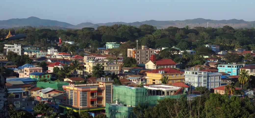 Blick auf Loikaw