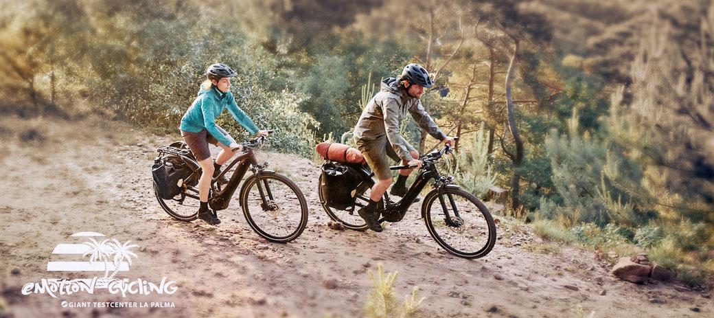 GIANT AnyTour Trekking E-Bike La Palma