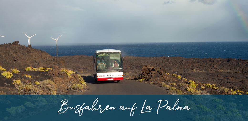 Busfahren auf La Palma