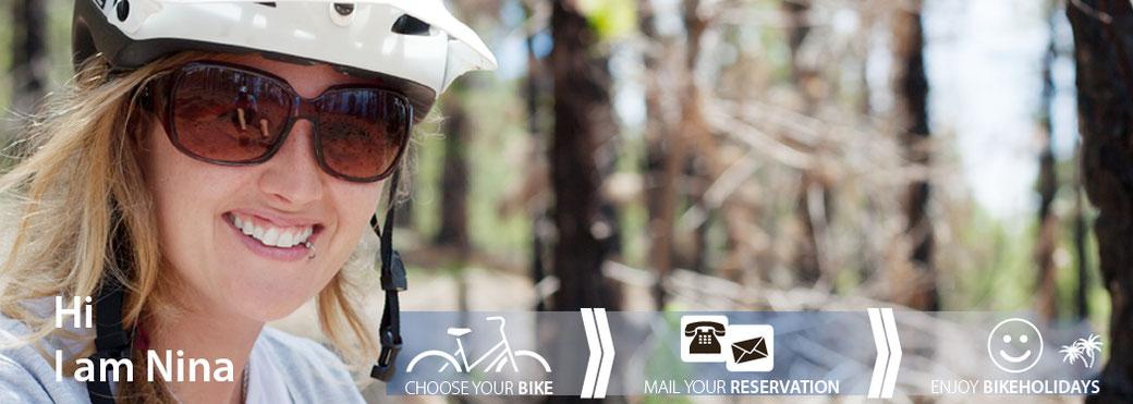 emotion cycling Portraitbild Nina