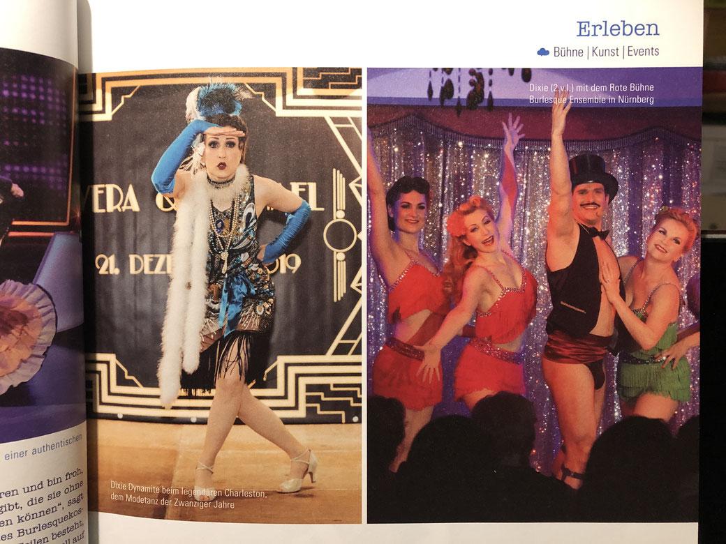 Burlesque Tänzerin buchen, Burlesque-Show München, Charleston Tanzshow, Retro Showtanz Bayern, Germany, Showgirls buchen, Burlesque Show Künstlerinnen