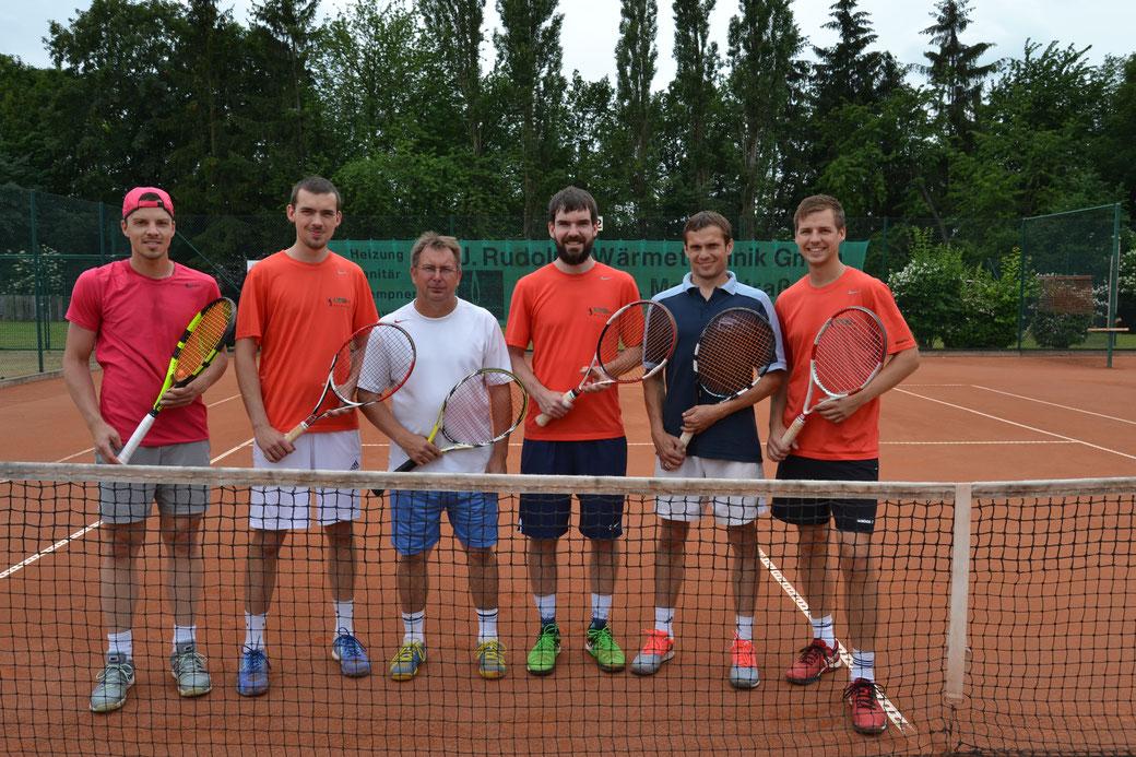 vlnr: Nino Kaiser, Konrad Schneider, Libor Nehasil, Konrad Schneider, Petr Drabek, Stefan Schneider