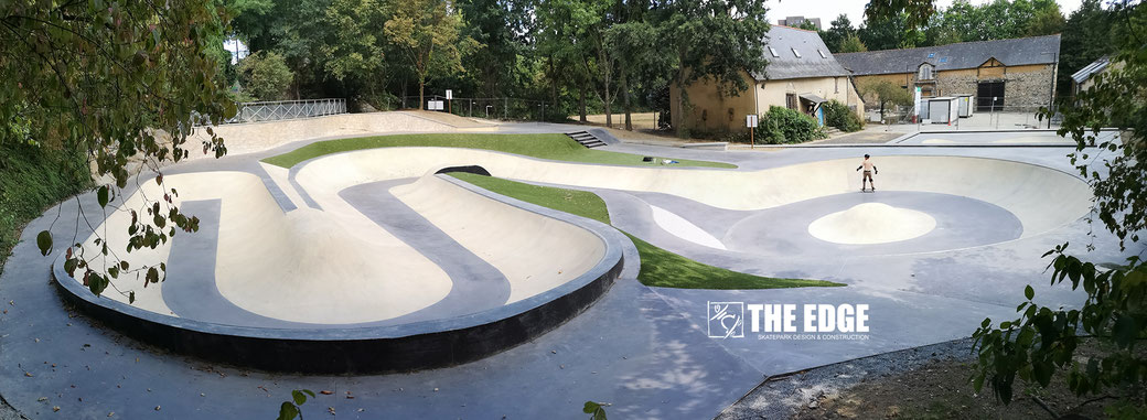 THE EDGE Skatepark - Snakebowl Rennes Ferme des Gallets
