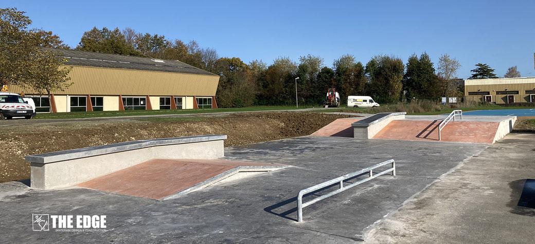 THE EDGE Skatepark Vezin le Coquet