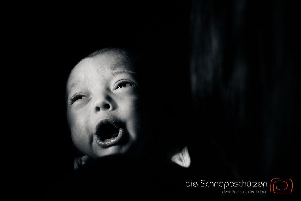 Babyfotos: wenn der Fototermin abgebrochen werden sollten