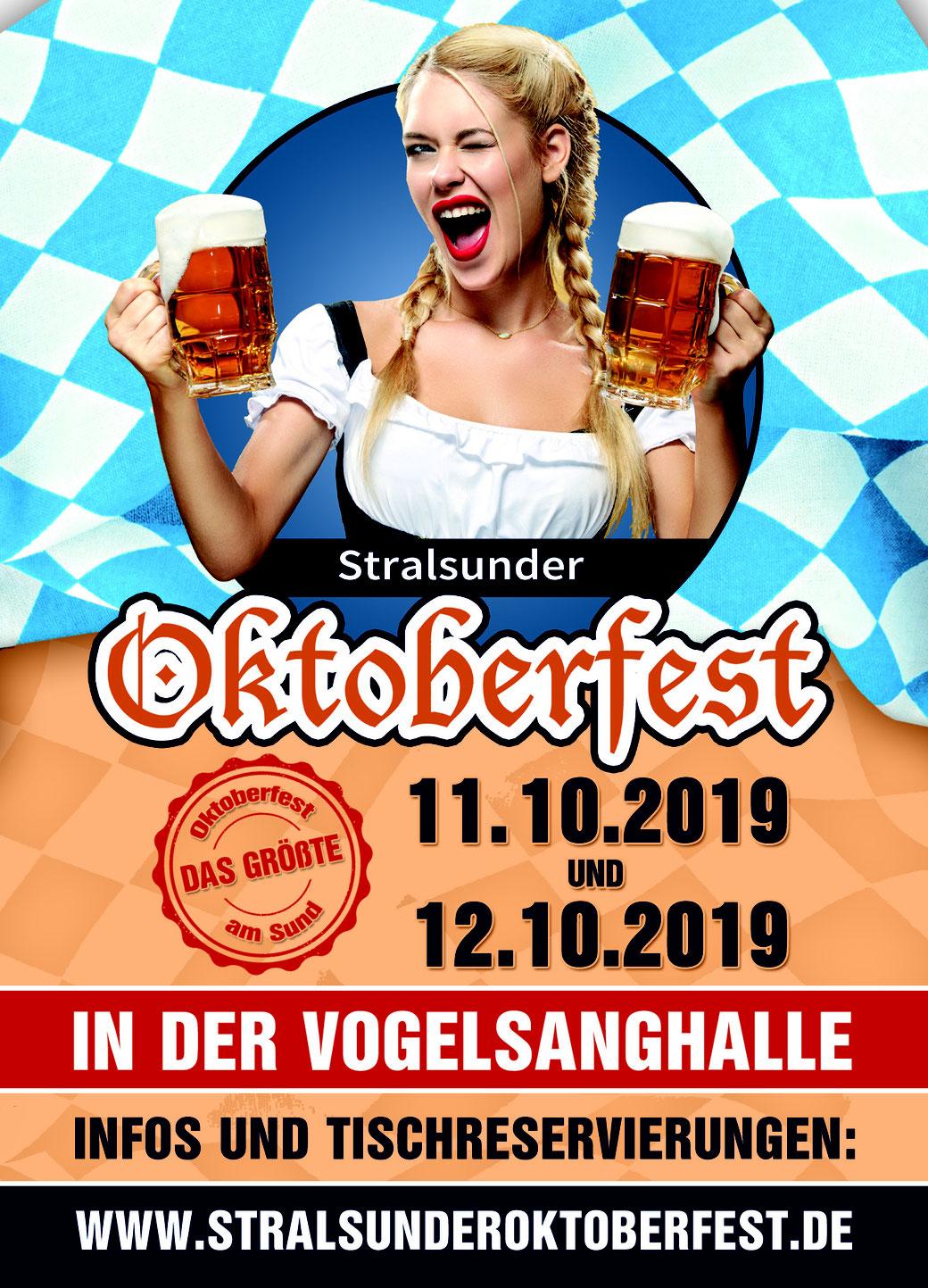 Stralsunder Oktoberfest, das größte Oktoberfest am Sund in Stralsund!