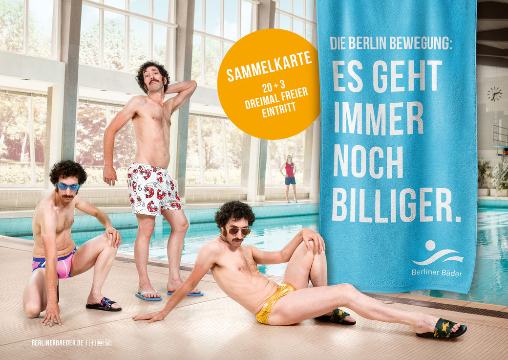 Berliner Bäder Betriebe; Photographer: Ralph Baiker