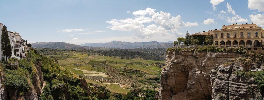 Ronda, Andalucia Meduana photo panorama