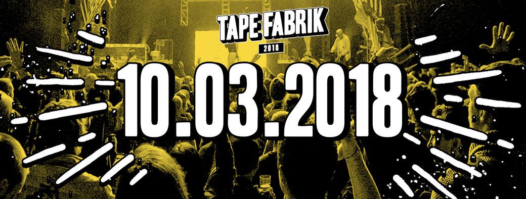 bb21 dieses Jahr auch auf der Tapefabrik
