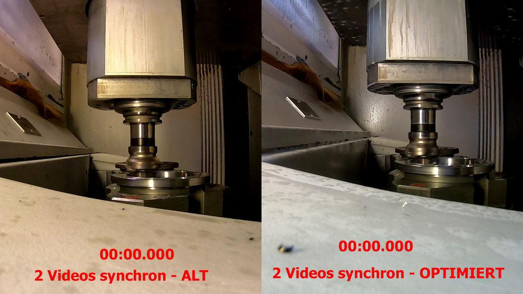 Analyse 7: 2 - 4 Videos synchron