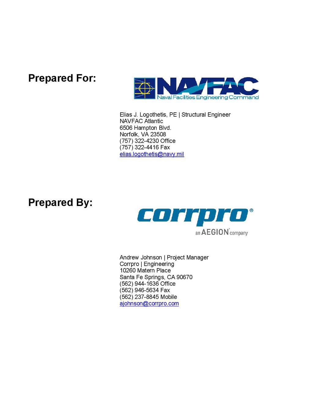 SURTREAT Corrosion Inhibitor Report.