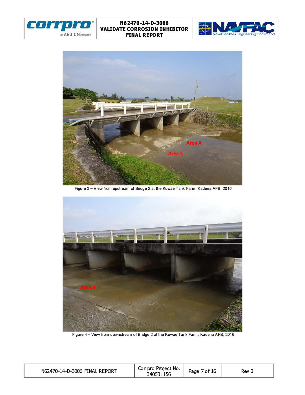 Bridges using SURTREAT Corrosion Inhibitors Including VCI.