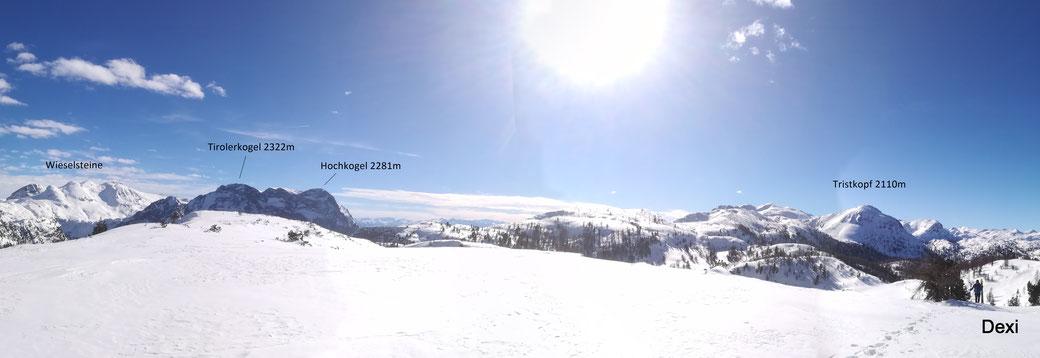Blick vom Rauhkopf-Plateau