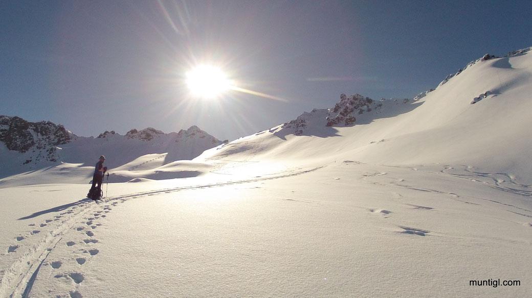 es waren auch noch kaum Spuren im Schnee... würde sagen recht gut erwischt :-)