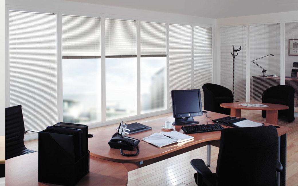 Cortinas Horizontales para Oficina en Monterrey
