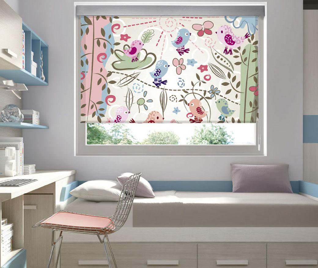 Persianas con impresión digital para ventanas