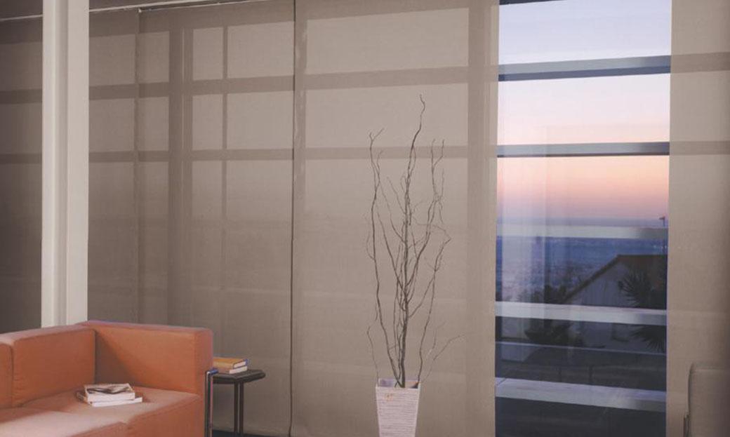 ¿Que son las persianas panel japones?