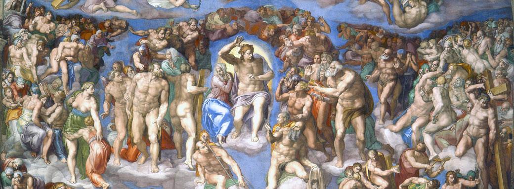 Michelangelo. (c. 1540). 'The Last Judgement', Sistine Chapel, Rome.