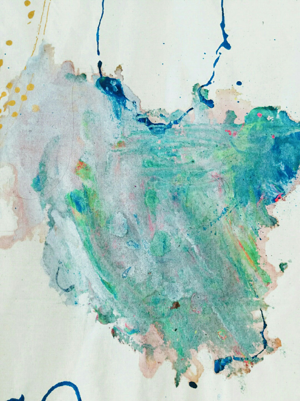 D.I.Y. Kunst Geschichten fürs Kinderzimmer, Stoffmalerei, Wandbehang, Wandbild, Gästebuch,Bilderbuch aus Stoff, mit Kindern malen