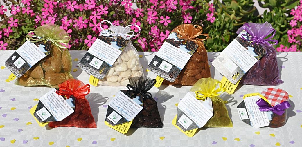 Lot-amandes-miel-toastées-bio, amandes, cadeau, cadeaux, cadeau-fête-des-mères, cadeau-fête-des-pères,