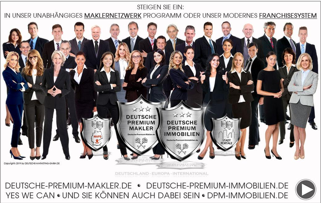 IMMOBILIEN FRANCHISE MAKLER FRANCHISE IMMOBILIENMAKLER FRANCHISING HANDELSVERTRETER OBJEKTAKQUISE LEADGENERIERUNG MAKLERNETZWERK