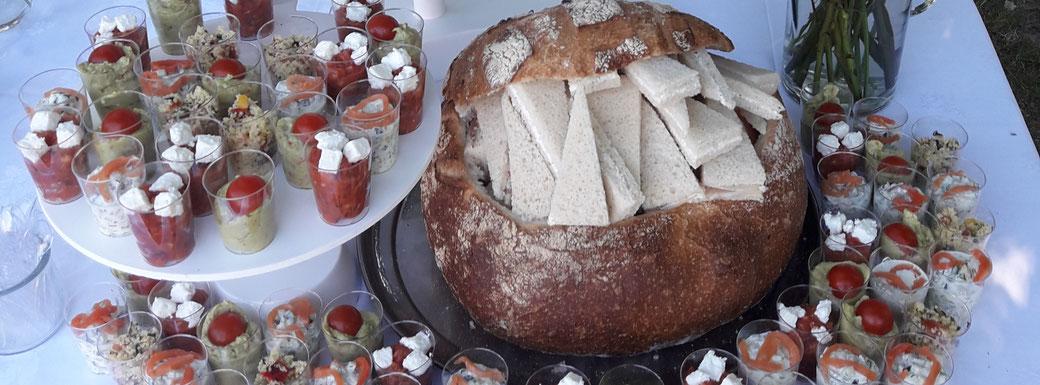 Traiteur le Cochon sans Rancune - Montrieux-en-Sologne - Buffets à 9, 10,50 et 13€ pour vos fêtes, cousinades, anniversaires et rencontres professionnelles