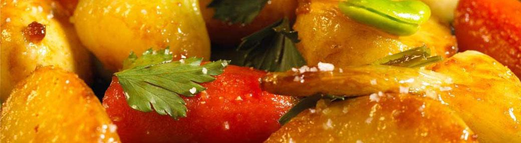 Traiteur le Cochon sans Rancune - Montrieux-en-Sologne - Légumes et accompagnements pour vos menus de mariages, fêtes, cousinades, anniversaires et rencontres professionnelles