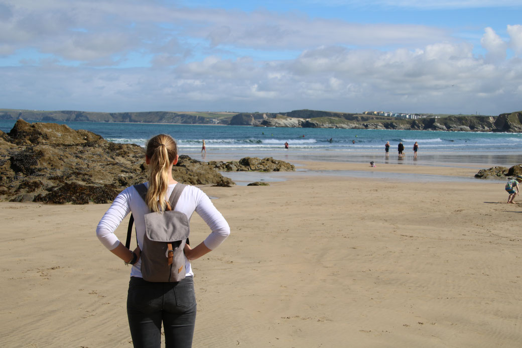 Beach of Newquay