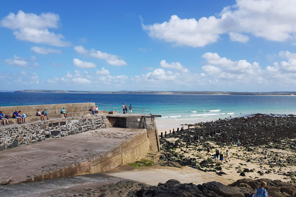 Beach of St. Ives