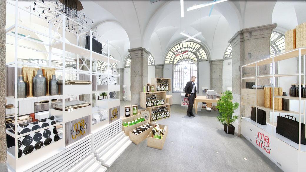 Mobiliario 3D para oficinas. Green Cabin