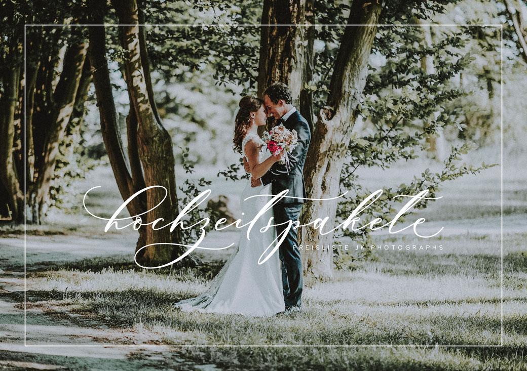 Preise Hochzeitsfotografie Preisliste Mecklenburg Vorpommern Neubrandenburg JK Photographs