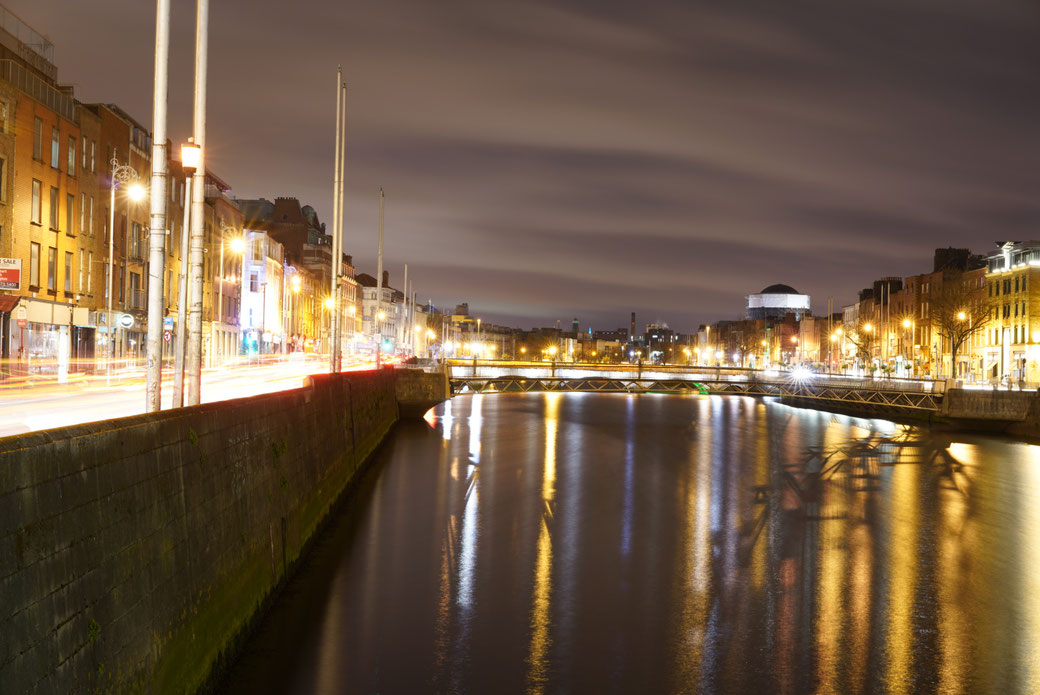 Dublin at night!