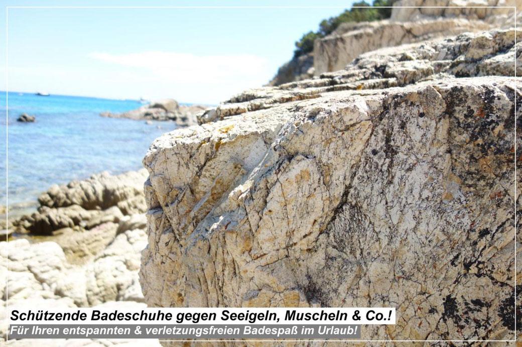 Schützende Badeschuhe gegen Seeigeln, Muscheln & Co.! Sichere Badeschuhe Empfehlung - Für ihren entspannten & verletzungsfreien Badespaß im Urlaub! Die besten Wasserschuhe!