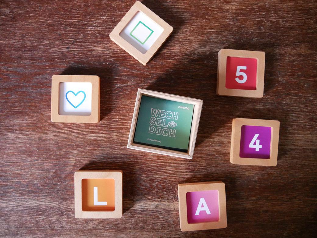 In den sechs Magnetrahmen des Wechsel - Dich sind Lerninhalte, die für inklusive und heterogene Lerngruppen perfekt geeignet sind. Erfolgreiches Lernen kann spielerisch ermöglicht werden.