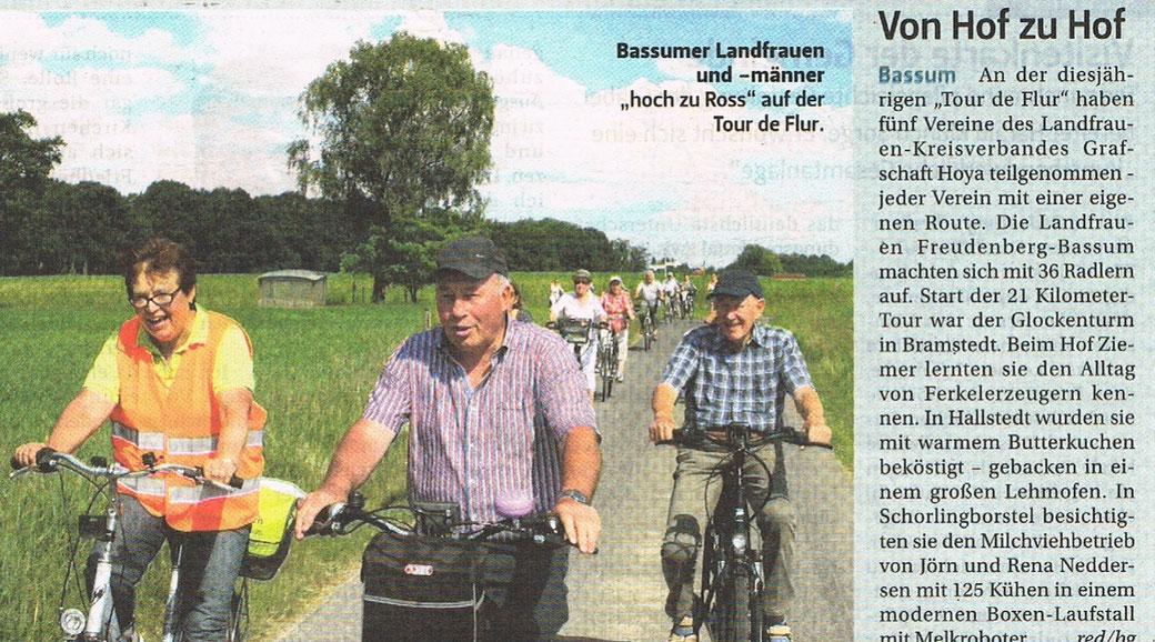 Artikel aus der Land & Forst, Foto LFV Bassum e.V.