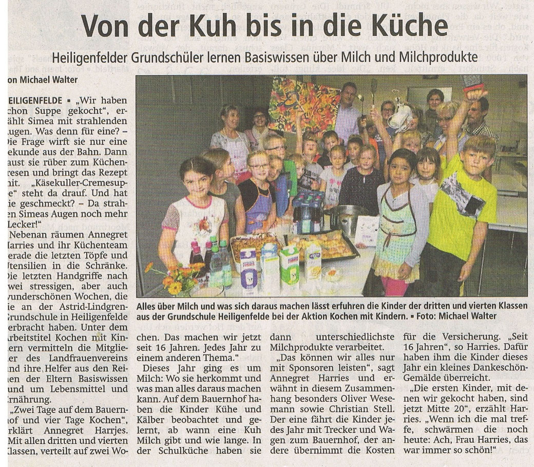 Mit freundlicher Genehmigung der Kreiszeitung Syke