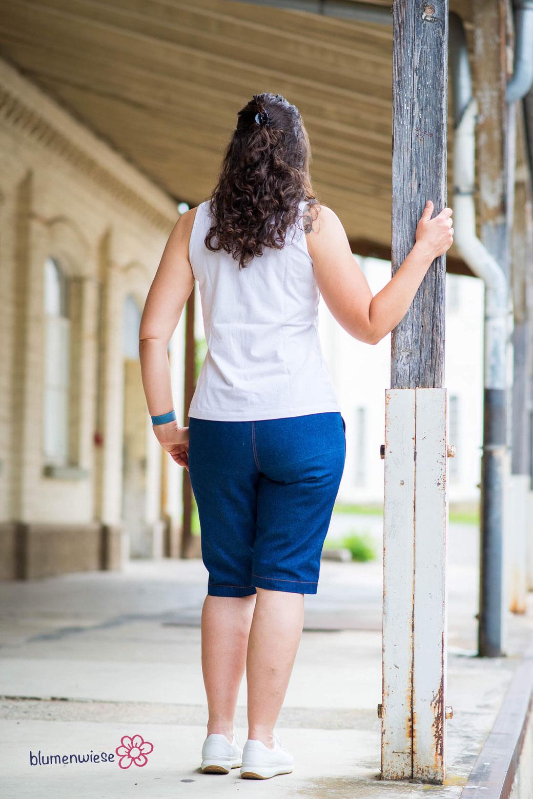 Bermuda aus Jeans