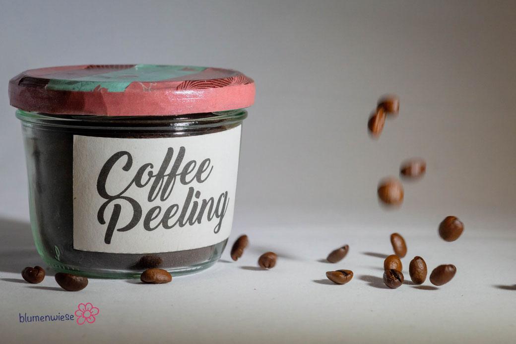 selbstgemachtes Kaffeepeeling