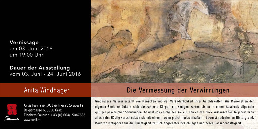 Ausstellung Anita Windhager - Die Vermessung der Verwirrungen