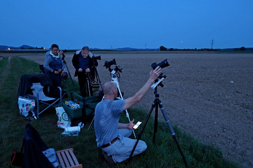 Fotoclub Wachtberg Workshop Astrofotografie