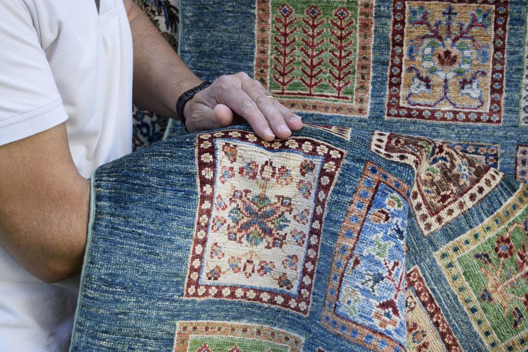 come capire tappeto fatto a mano o industriale