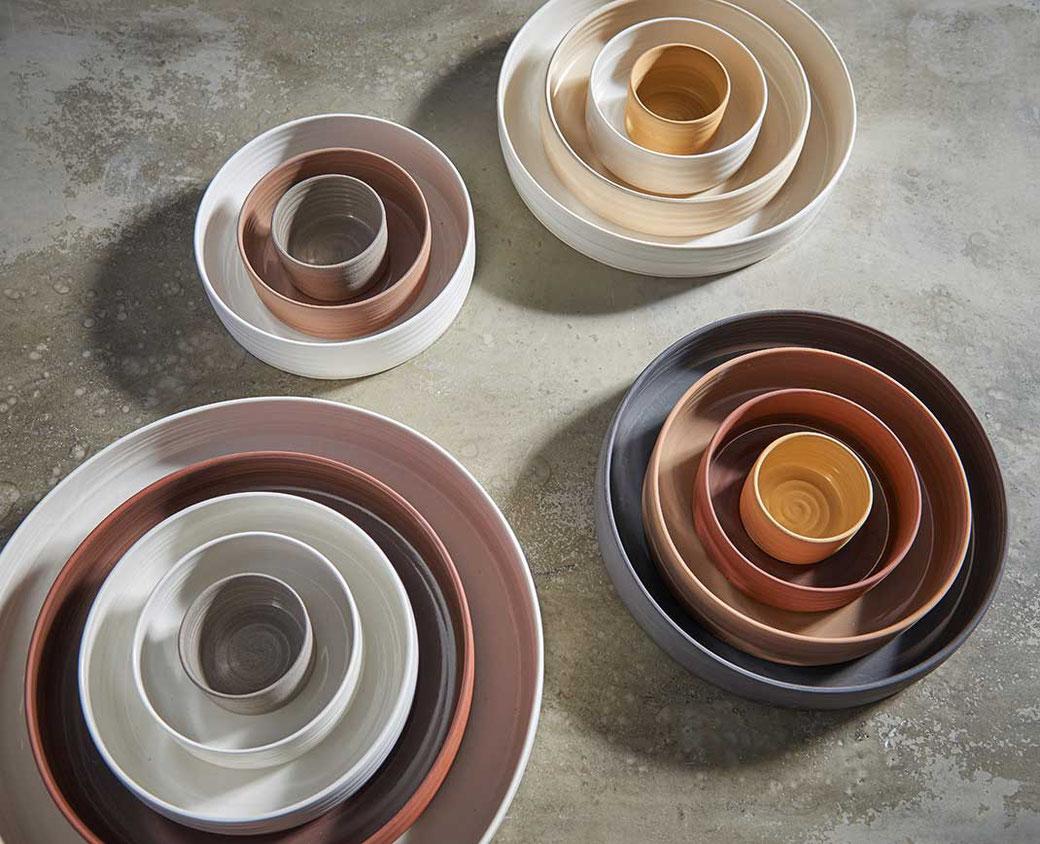 Steinzeug Geschirr individuelles geschirr aus porzellan steinzeug kaas heger