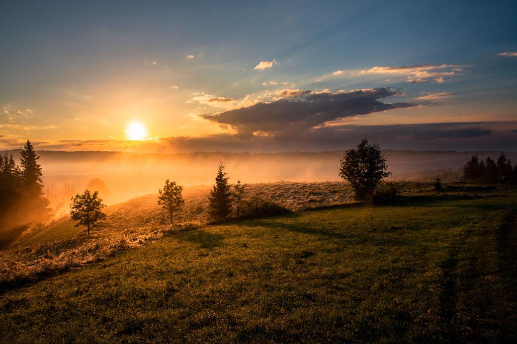 Morgen, Schlafen, Sonnenaufgang