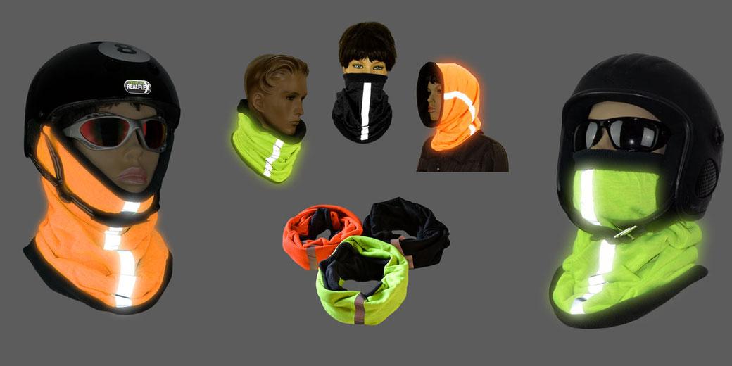 REALflex-WinterTUCH; wärmendes und leuchtendes Multifunktionstuch für alle Outdoor-Aktivitäten und jede Altersgruppe empfehlenswert.